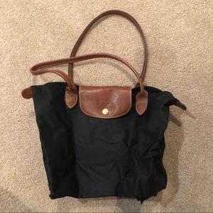 Small Black Longchamp purse